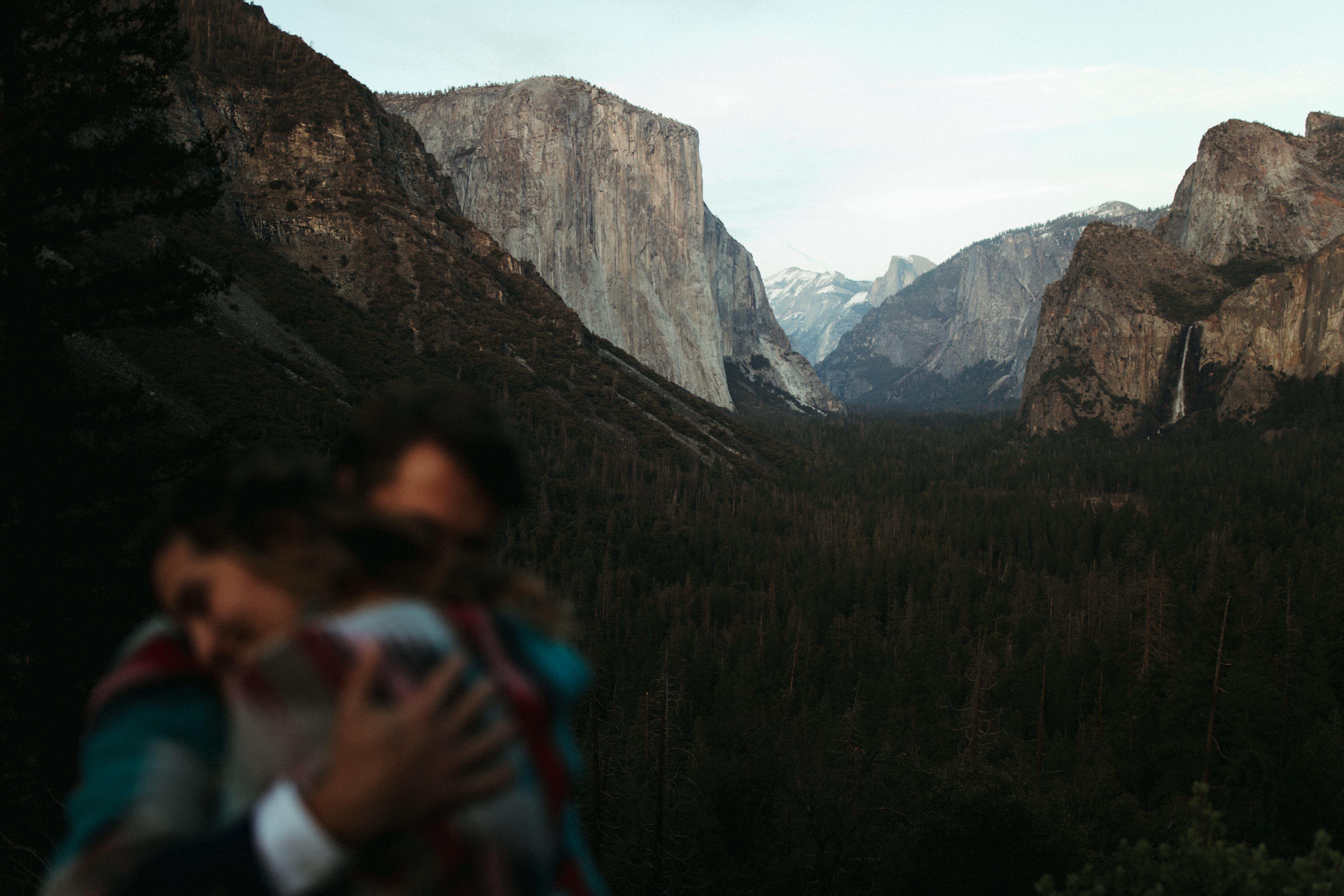 Love In Yosemite National Park
