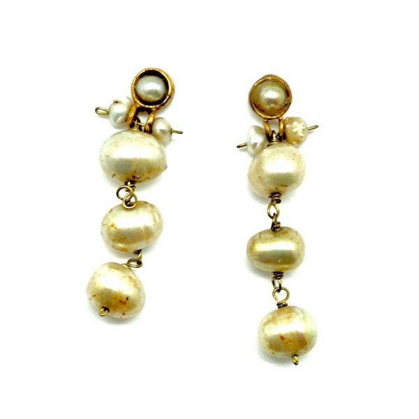 pendientes perlas sostenible